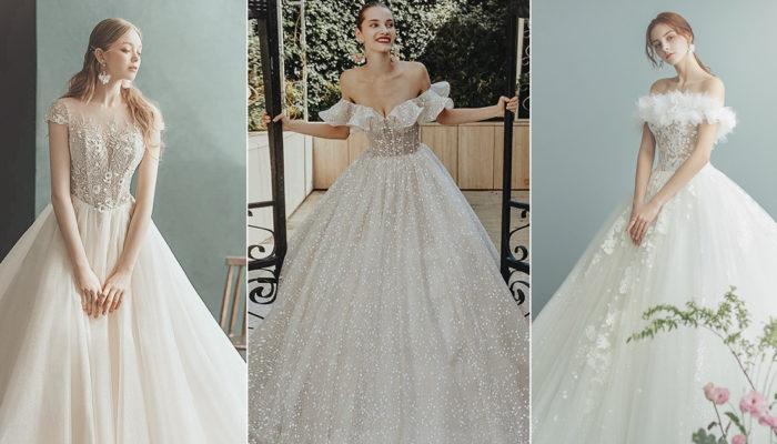 公主也愛玩時尚! 30件穿出別緻個性的現代童話婚紗禮服