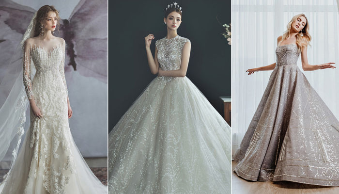 一襲婚紗點亮璀璨星河! 15件經典奢華柔光婚紗