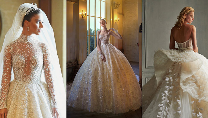 15件閃亮藝術精品婚紗,以華麗點綴創造細膩脫俗的時尚風貌