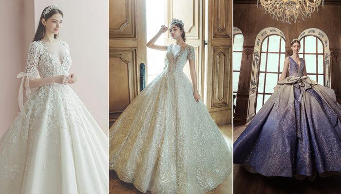 時尚公主氣勢嫁到! 15件經典升級華麗魔法澎裙禮服