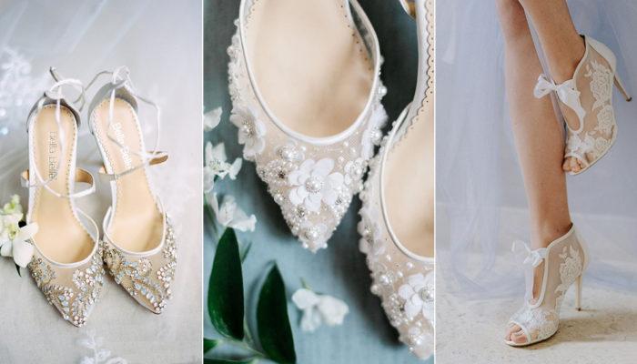 12雙夢幻仙女系手作婚鞋,實現時尚新娘的現代版童話