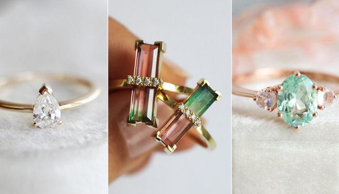 15款刻劃出大自然夏日風情的求婚戒指 – 致生命中的一縷陽光