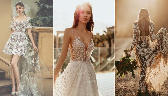 夏日樂園婚紗夢幻嫁到,18件夏天新娘最愛的時尚婚紗禮服
