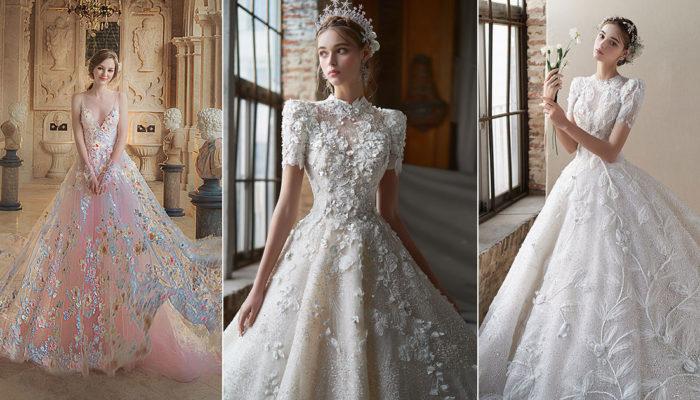 15件精緻工藝時尚婚紗禮服 – 藝術品般的夢幻手工細節
