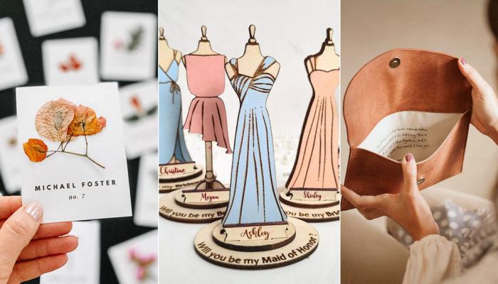 用創意打造手感婚禮! 15個DIY工藝手感婚禮細節,傳遞手作的溫度