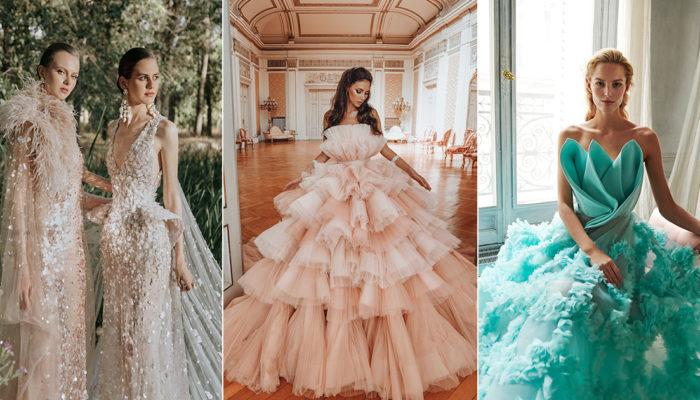 14件時尚新娘的夢幻晚禮服 – 將婚宴幻化為女神的時裝伸展台