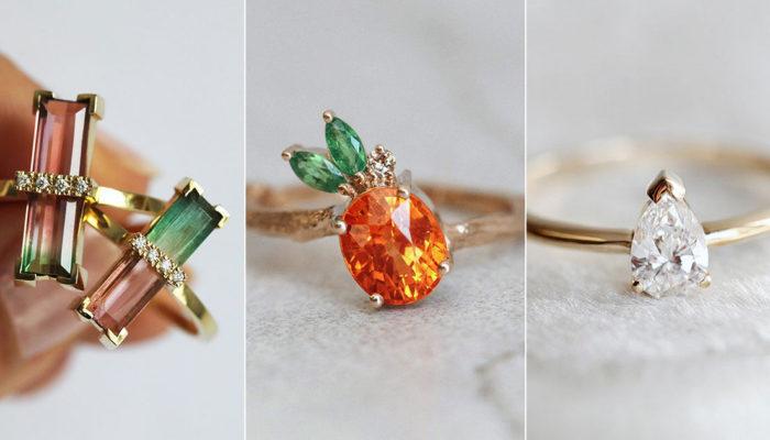 讓大女孩著迷的水果戒指! 8款獨一無二的甜蜜水果寶石婚戒