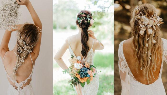 令人怦然心動的創新女神系飄逸髮型! 誰說新娘一定要盤髮?