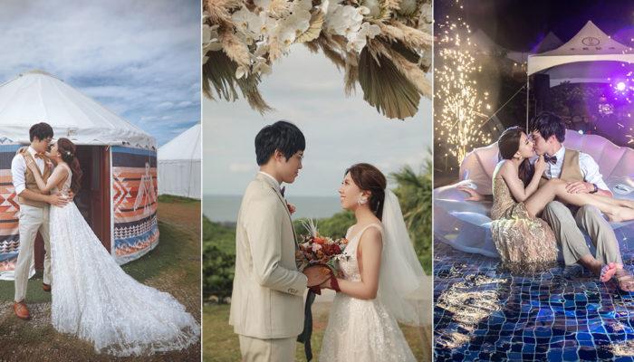 驚艷全世界的台灣北海岸半島秘境婚禮!仲夏之夜海景派對創意深耕在地文化