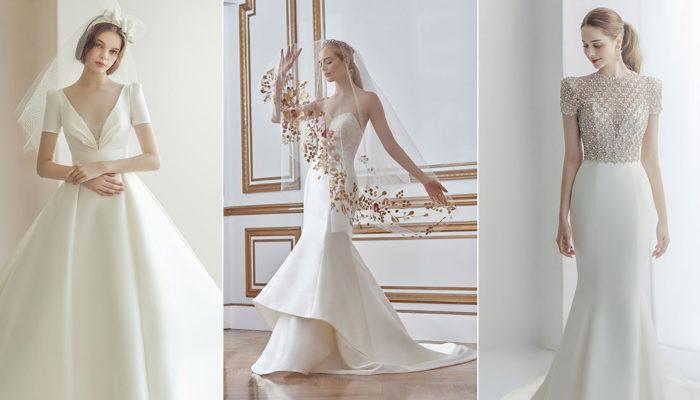 簡約但不簡單、輕便而不隨便,14件低調綻放優雅光芒的時尚輕婚紗
