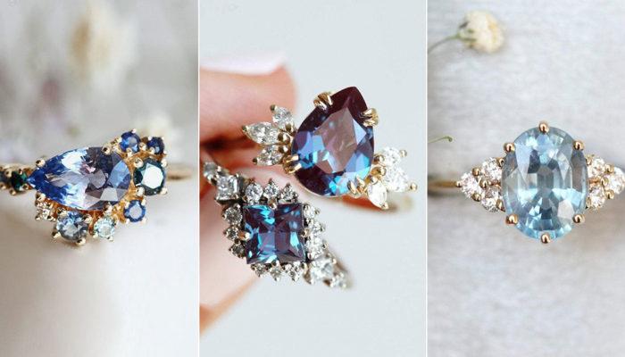女孩們最想擁有的Most Wanted藍色寶石求婚戒指,符合預算的超值浪漫